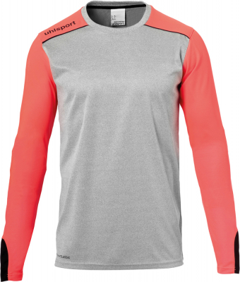 Uhlsport Tower Torwart Langarm Trikot dark grau melange-rot