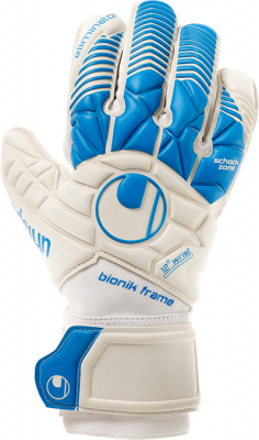 Uhlsport SUPERSOFT BIONIK Torwarthandschuh blau