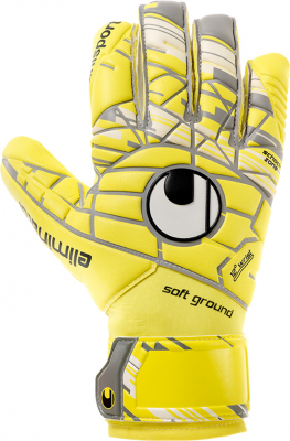 Uhlsport UNLIMITED SOFT HN COMP Torwarthandschuh gelb