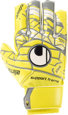 Uhlsport UNLIMITED SOFT SF JUNIOR Torwarthandschuh gelb
