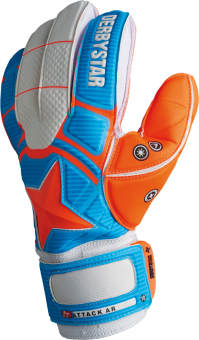 Derbystar Attack AR Advance Torwarthandschuh orange-blau