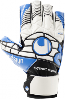 Uhlsport ELIMINATOR SOFT SF Jr. Torwarthandschuh weiß-blau